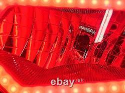 09-21 Polaris Sportsman Red Halo Headlights 500 700 800 570 550 850