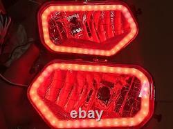 14-17 POLARIS ACE 570 325 RED ANGEL EYES HEADLIGHTS (head light) HALO Sportsman