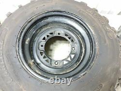 14 Polaris Sportsman 570 EPS ATV front and rear wheels rims tires set
