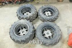 17 Polaris Sportsman 570 Touring SP ATV wheels rims and tires front rear set