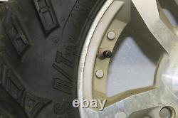 2009 Polaris Sportsman Xp 850 Front And Rear Wheels Rims W Tires