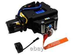 2012-2020 Polaris Sportsman OEM HD 50 ft (3500 lb) Syn. Rope Winch Kit 2880435