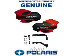 2013-2020 Polaris Sportsman 1000 800 OEM Red Hand Guard & Bracket Kit Assy P84
