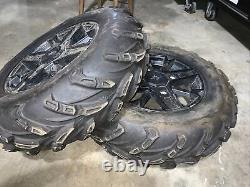 2017-2020 Polaris Sportsman SP 850 4x4 14 Front Wheels Rims With 26x8-15 CST