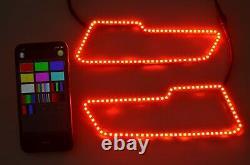2017+ Polaris 2021 Sportsman 450 570 850 1000 Led Halo Rings Led Headlight Kit