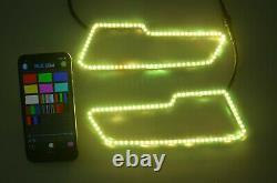 2021 POLARIS SPORTSMAN 450 570 850 1000 RGB LED HALO RING for LED HEADLIGHT KIT