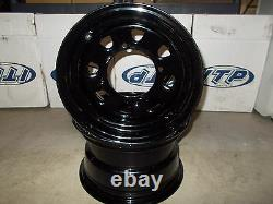 (2) Rims Steel Wheel Front Polaris Xplorer 4X4 400L Xpedition 425 Sportsman 500