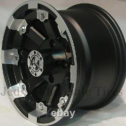 4 12 Rims Wheels for 2001-2011 Polaris Sportsman 400 IRS Typ 393 MBML Aluminum