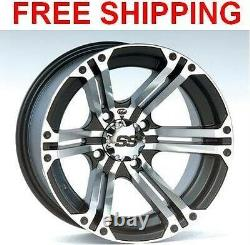 (4) ITP SS212 Wheels Set Rims 14 Wheel Kit Polaris 400/450/500 Sportsman 01-17