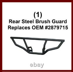 4-Piece Brush Guard & Rack Extenders for 2014-20 Polaris Sportsman 450 570 & ETX