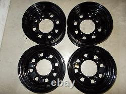 (4) Rims Steel Wheel Front Rear Polaris 2000 polaris Sportsman 500