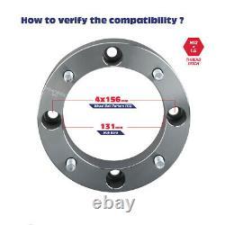 4x1.5 Wheel Spacers 4x156 for Polaris Sportsman 400 500 600 700 800 ATV UTV RZR