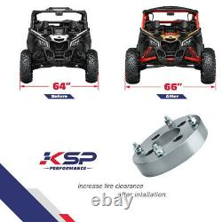 4x 1 Wheel Spacers 4/156 for Polaris Sportsman 400 500 600 700 800 ATV UTV RZR