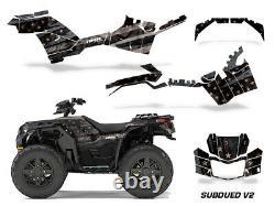ATV Decal Graphics Kit Quad Wrap For Polaris Sportsman 850/1000 2017-2019 SUBV2