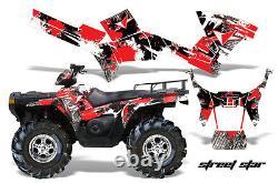 ATV Graphics Kit Decal Sticker Wrap For Polaris Sportsman 500/800 05-10 STSTAR R