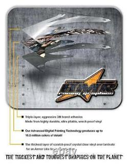 ATV Graphics Kit Decal Sticker Wrap For Polaris Sportsman 500/800 05-10 StarsStr