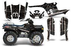 ATV Graphics Kit Decal Sticker Wrap For Polaris Sportsman 500 95-04 SUBDUED V2