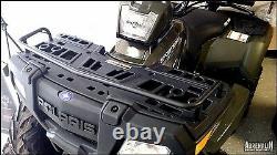 COMPLETE PACKAGE Polaris Sportsman 90/110 Front Brushguard & Front Rack Extender