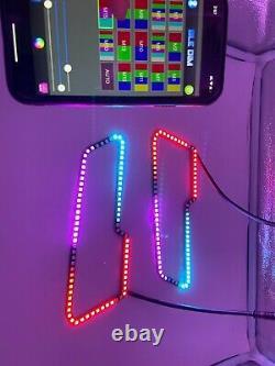 Dynamic RGB Color Chasing Headlight Halo 2017 2020 Polaris Sportsman 850 1000