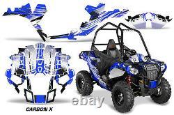 Graphics Kit ATV Decal Wrap For Polaris Sportsman ACE 325 570 2014-2016 CRBNX U