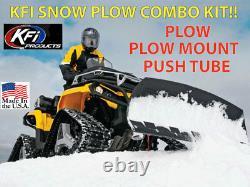 KFI SNOW PLOW KIT Polaris Sportsman 570 600 700 800 54 Plow'03-'19