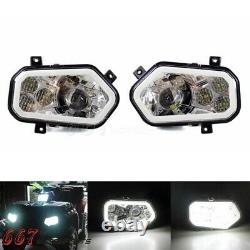 LED Headlight For Polaris Sportsman RZR 400 450 500 570 800 900 XP 4 2011-2014