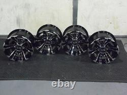 Polaris Sportsman 450 12 Raptor Atv Aluminum Wheels (set4) Life Warranty Pol3ca