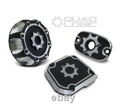 Polaris Sportsman 450 550 570 850 Billet Throttle Cover, Brake Cover, Gas Cap