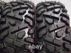 Polaris Sportsman 500 25 Quadking Atv Tire & Sti Hd4 Wheel Kit Pol3ca Bigghorn