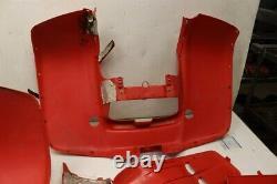 Polaris Sportsman 500 4x4 99 Front Rear Fender Set Red 27042