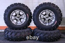 Polaris Sportsman 570 25 Bear Claw Atv Tire & Cobra M/b Wheel Kit Pol3ca