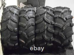 Polaris Sportsman 570 25 Executioner Atv Tire- Itp Black Atv Wheel Kit Pold