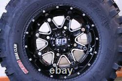 Polaris Sportsman 700 25 Bear Claw Atv Tire & Sti Hd4 Wheel Kit Pol3ca