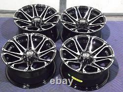 Polaris Sportsman Xp1000 14 Sti Hd3 M Aluminum Atv Wheels Complete Set4 Pol1ca