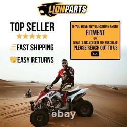 QUADBOSS Front & Rear Wheel Bearing Kits for Polaris Sportsman XP 850 2009-2013