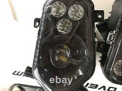 12-16 Polaris Sportsman Black Led Conversion Lightlights Kit 1000 800 850 500