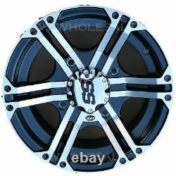 14x6 4/156 Itp Ss212 Aluminium Atv Rim Wheel Pour Polaris Sportsman Ranger Rzr Ace
