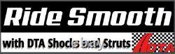 2 Front Coil-over Struts Shocks Springs Polaris Sportsman 90 Scrambler 90