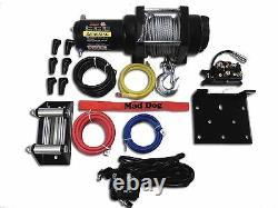 3500lb Mad Dog Winch Mount Combo Polaris Vtt 11-20 Sportsman 400 450 500 800