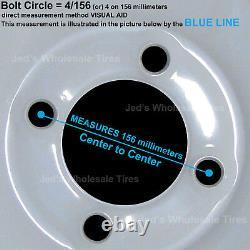 4 12 Distributeurs Automatiques De Vtt Wheels Pour Polaris Sportsman X2 500 550 12x7 4/156 4+3 5 Étoiles