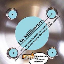 4 12 Jantes Wheels Pour 2002-2008 Polaris Sportsman 700 Irs Typ 393 Mbml Aluminium