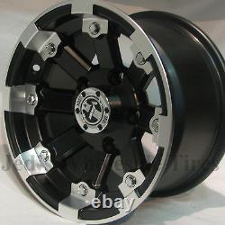 4 12 Pneus Pour Roues 1996-2013 Polaris Sportsman 500 393 Irs Mbml Aluminium