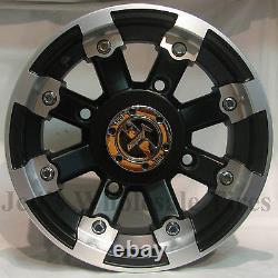 4 12 Rims Roues Pour 2005-2013 Polaris Sportsman 800 Irs Typ 393 Mbml Aluminium