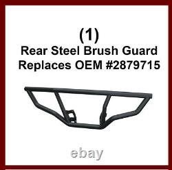 4-piece Brush Guard & Rack Extenders Pour 2014-20 Polaris Sportsman 450 570 & Etx