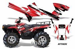 Atv Graphics Kit Autocollant Décalcoman Wrap Pour Polaris Sportsman 500/800 05-10 Attack R