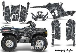 Atv Graphics Kit Decal Wrap Pour Polaris Sportsman 400 500 1995-2004 Camoplate Bk