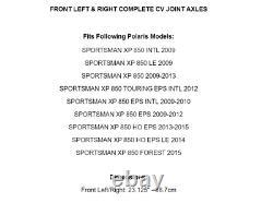 Axes Avant Droit Et Gauche CV Pour Polaris Sportsman Xp 850 2009-2015