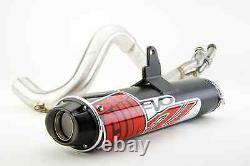 Big Gun Black Evo U Full Exhaust Pipe Silencieux Polaris Sportsman 800 2005 2008