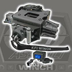 Kfi 2500 Agression Steel Plug-n-play Winch'15-'20 Polaris Sportsman 570 1000 850