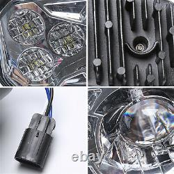 Phares Led Atv 2pcs High Low Beam Pour Polaris Sportsman Rzr Xp 900 800 570